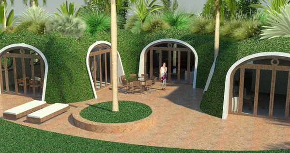 Green magic homes green houses ecologic earth covered for Earth covered homes