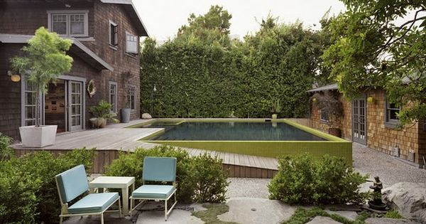 Above Ground But Classy Above Ground Pools Fun Water Games Pinterest Pool Houses Flag