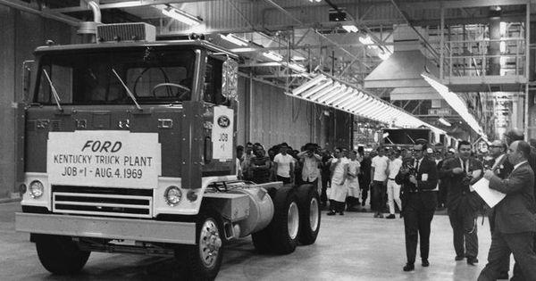 kentucky ford truck plant louisville ky 1969 big lou 39 s louisville pinterest kentucky. Black Bedroom Furniture Sets. Home Design Ideas