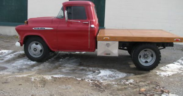 56 Chevy Truck Dually Chevrolet Other Pickups 3800 1957 Chevy