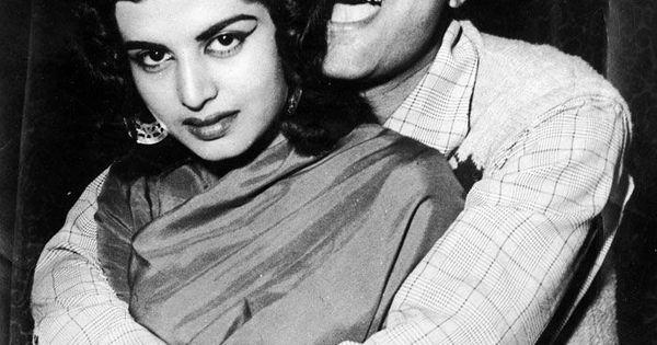 dev anand with wife kalpana kartik indian movie stars