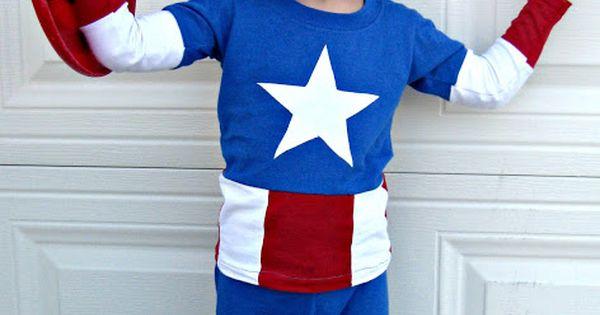 diy captain america costume captain america pinterest. Black Bedroom Furniture Sets. Home Design Ideas