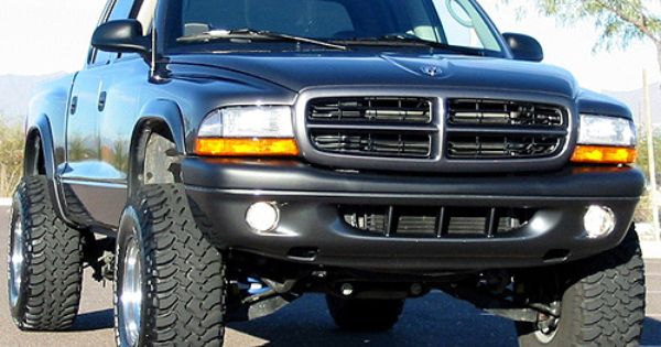 F F B B C E Fe B on 2001 Dodge Durango Lifted