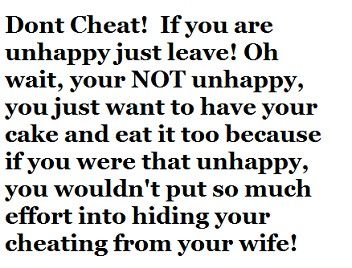 How Not To Get Caught Cheating On Your Spouse
