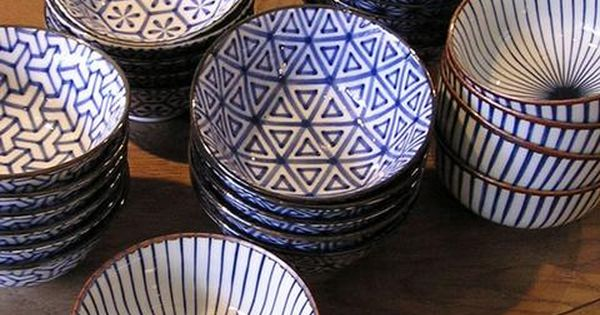 Kitchen bowls - fantastic patterns