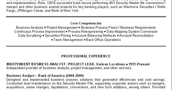 business analyst resume examples objectives you have to