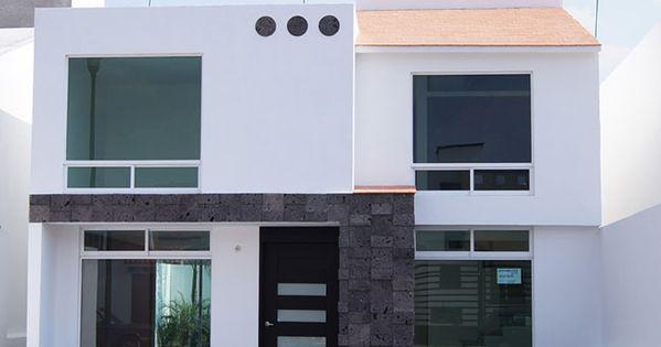 Fachadas de casas chiquitas de dos plantas fachadas for Casas chiquitas modernas