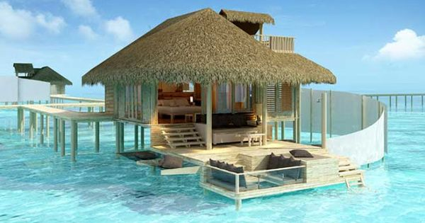 Cool place for a honeymoon, beach house above the water, so romantic!!!
