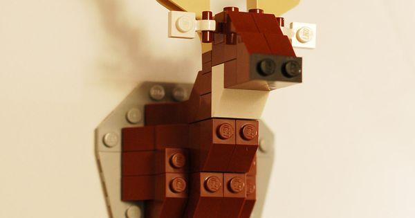 Taxidermy Deer LEGO Kit (boys room)