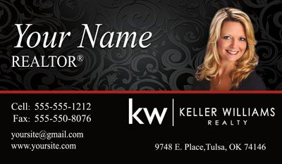 Keller Williams Business Card With New Logo One Of The Most Popular Des Keller Williams Business Cards Real Estate Business Cards Keller Williams Realty Logo