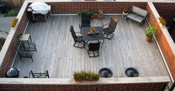 Rooftop Garage Roof Deck Garage Top Dreams Pinterest