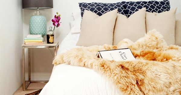 10 Small Bedrooms Organized, stylish in a small space ::