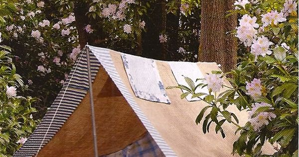 BACKYARD CAMPING RENDEZVOUS: Pitch a tent in your backyard on a hot