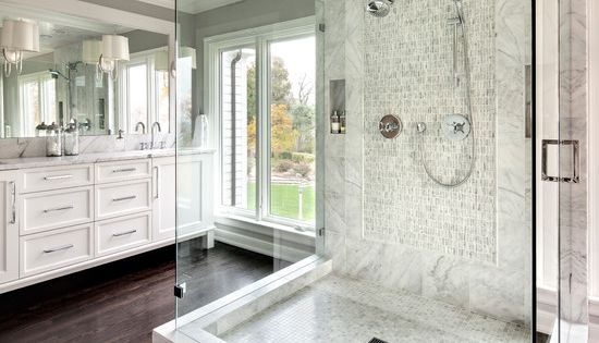 21 Outstanding Transitional Bathroom Design  Vanities, Cabinets and ...