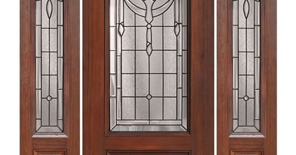 Glasscraft 1 Panel 3 4 Lite Palmetto 1 2 Fiberglass Exterior Door At Doors4home Com Fiberglass Door Entry Doors Exterior Doors