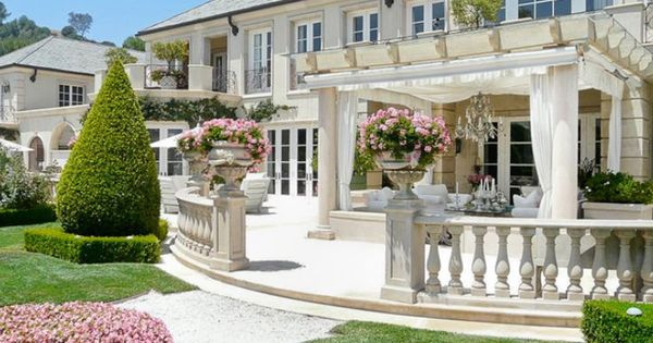 French chateau style backyard ideas google search Lisa vanderpump home decor for sale