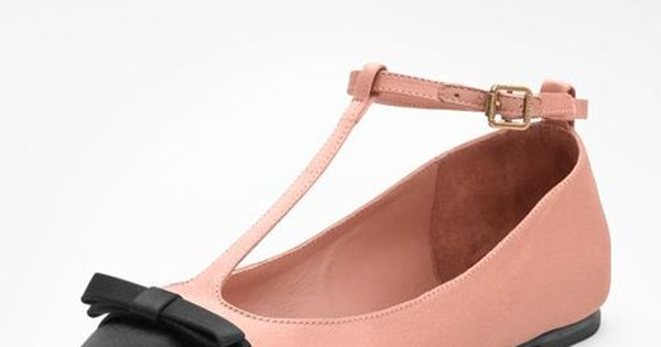 Tory Burch Leoni T strap Ballet Flat Ballet Inspired Fashion capeziostudio2street