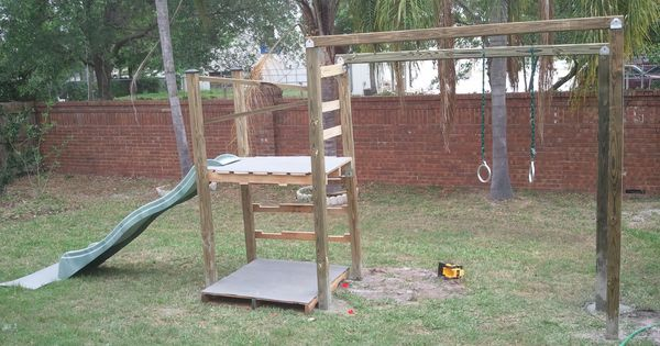 Image Result For Pallet Playground Jungle Gym