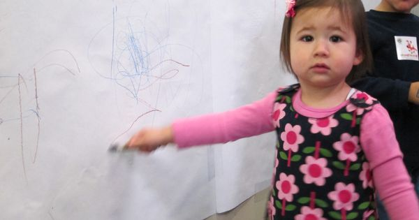 Every Toddler Classroom Should Have A SCRIBBLE SPOT From The SBGR