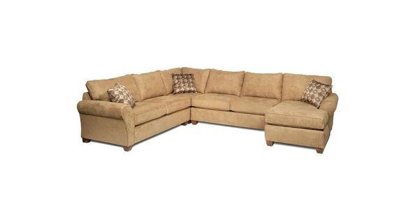 Stanton furniture living room obsession tweed sectional - Living room furniture portland oregon ...