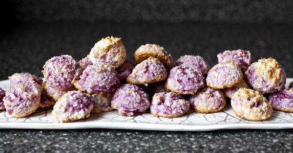 Raspberry Coconut Macaroons via Smitten Kitchen.