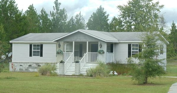 Front Porch Added To Manufactured Home Mobile Home