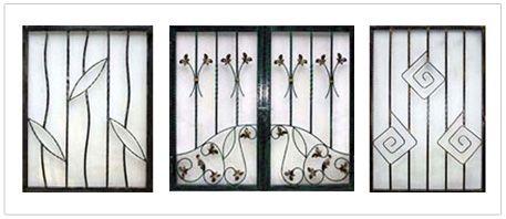 Simple Unique Window Grill Design 10