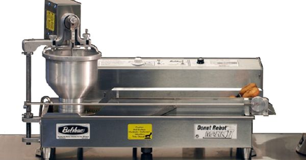 Donut Robot Electric Automatic Fryer Belshaw Adamatic By Unisource Mark Ii Raised Donuts Coffee And Donuts Donuts