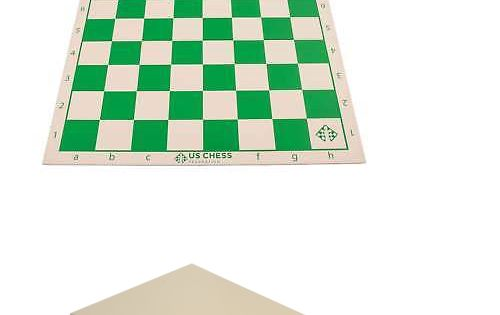 "36/"" Pouch-Style Chess Demonstration Teaching Board Set with Clear Plastic Piec"