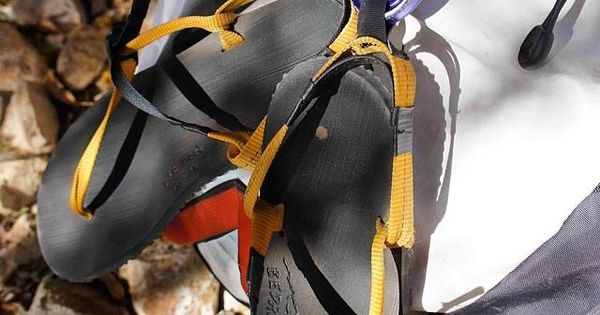 Use as a camp shoe!  The hiking sandal straps can be used for attaching the footwear to your favorite backpack.  Great for after a hike!
