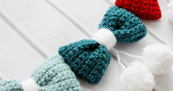 Crochet Hair Garland : Patterns, DIY and crafts and Crochet garland on Pinterest