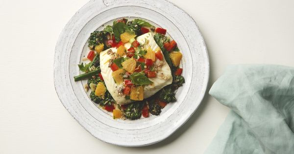 Mediterranean Citrus Poached Halibut | Chef'd: The Only Meal Store ...