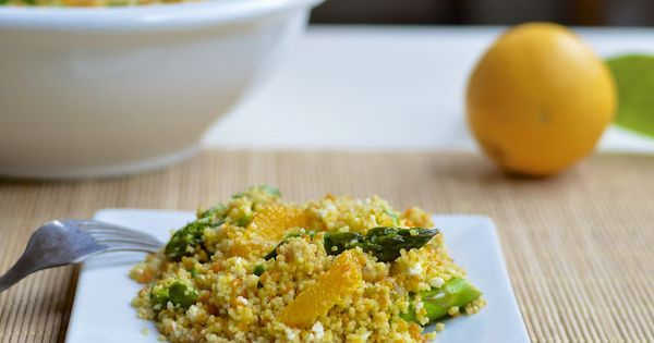 Couscous salad, Couscous and Citrus vinaigrette on Pinterest