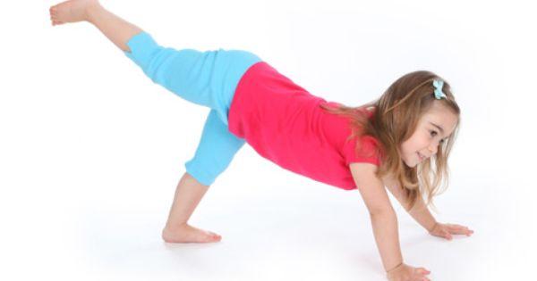 Three Legged Dog Kids Yoga Poses Yoga For Classrooms Namaste Kid Oefeningen Kinderyoga Gymnastiek
