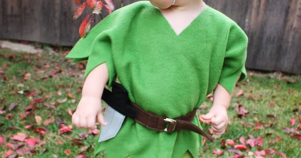 Peter Pan Costume - would be cute as Robin Hood also since