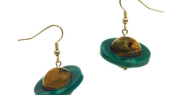 planet saturn earring - photo #40