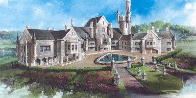 Castle Of Ourem House Plan Castle House Plans Balmoral House Castle Plans