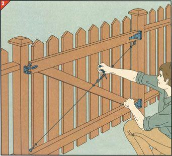 Diy Fence And Wall Repairs Diy Fence Backyard Gates Backyard Fences