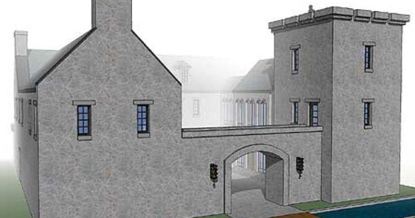 Plan 44071td Scottish Highland Castle Castle House Plans Castle House Castle Floor Plan