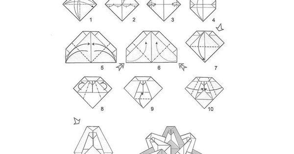 diagrama divino espirito santo origami