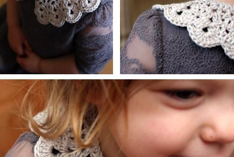 crochet lace collar tutorial