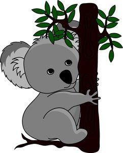 Free Clipart Koala Australia Koalafans Koalalovers Adorable Cute Koala Illustration Animal Clipart Koala Bear