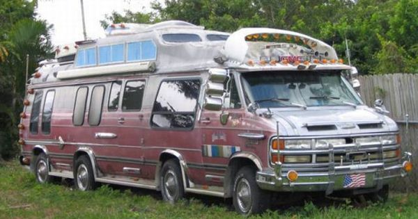 Pimped Out Camper Van Camping Pinterest Funny Pictures