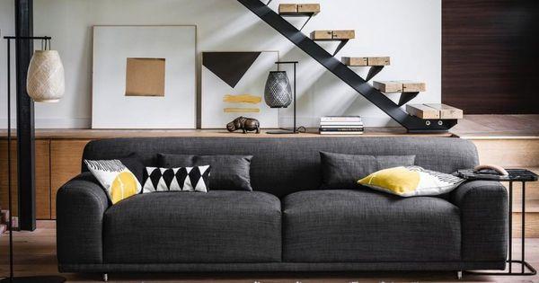 Canape Epais Design Une Tendance Qui S Affirme Canape Moelleux Canape Design Decoration Maison