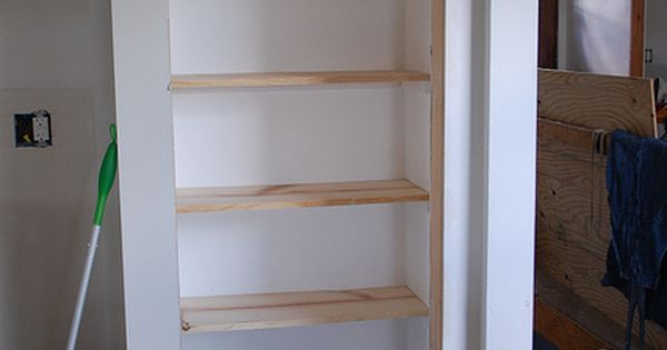 DIY shelves (pantry) - good idea when I get Andrew to replace
