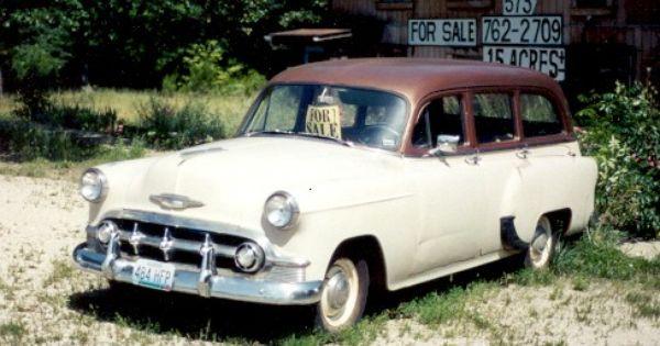 1953 Chevy Handyman Classic Cars Gm Car Chevrolet