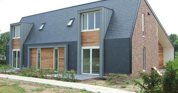 Platte dakkapel anthra zink arkitektur pinterest arkitektur - Moderne woning buiten lay outs ...