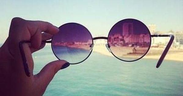 Glasses, summer, beach, holidays, retro, vintage