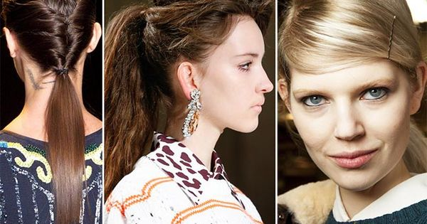 fall winter 2015 2016 hairstyle trends ponytail winter