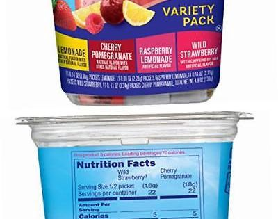 Drink Mixes 179192 Crystal Light Drink Mix Variety Pack On The Go Packets 44 Count 2 Pack Buy It Now Crystal Light Drink Mix Mixed Drinks Crystal Light